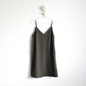 Dynamite Satin Slip Dress